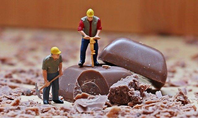 malí dělníci