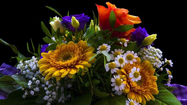 bohatá květina