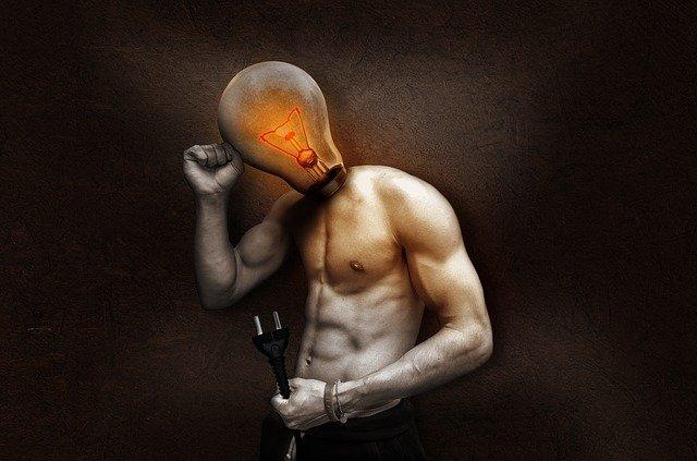 žárovka na krku